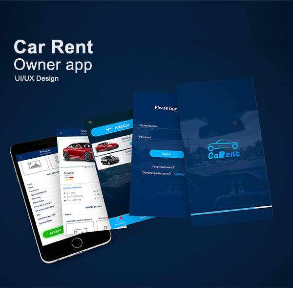 Car Rent Owner App