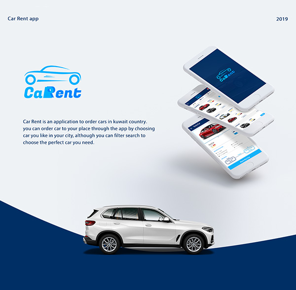 Car Rent User App